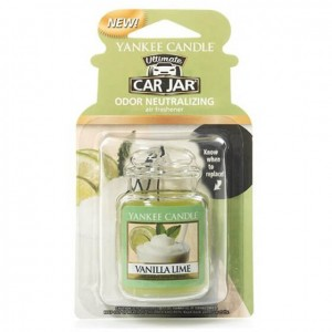 Zawieszka Yankee Candle Vanilla Lime Car Jar Ultimate
