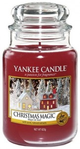 Świeca Yankee Candle Christmas Magic, duży słoik (623g)
