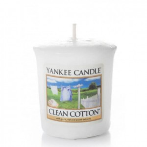 Sampler Yankee Candle Clean Cotton (49g)