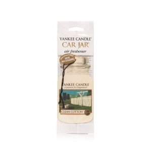 Zawieszka Yankee Candle Clean Cotton Car Jar