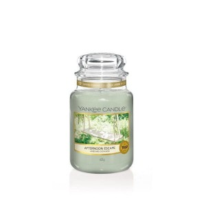 Świeca Yankee Candle Afternoon Escape, duży słoik (623g)