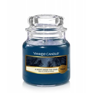 Świeca Yankee Candle A Night Under The Stars, mały słoik (104g)
