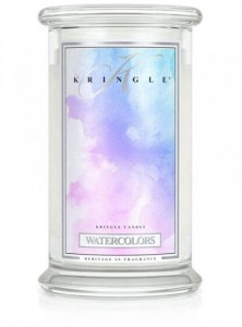 Świeca Kringle Candle Watercolors, duży słoik (623g)
