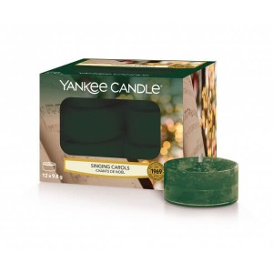 Tealight Yankee Candle Singing Carols