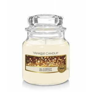 Świeca Yankee Candle All is Bright, mały słoik (104g)