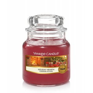 Świeca Yankee Candle Holiday Hearth, mały słoik (104g)