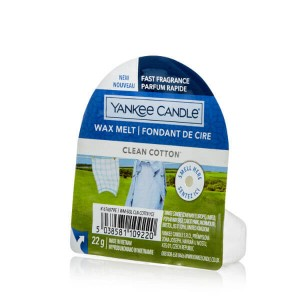 Wosk Yankee Candle Clean Cotton (22g)