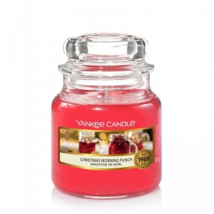 Świeca Yankee Candle Christmas Morning Punch, mały słoik (104g)