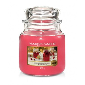 Świeca Yankee Candle Christmas Morning Punch, średni słoik (411g)
