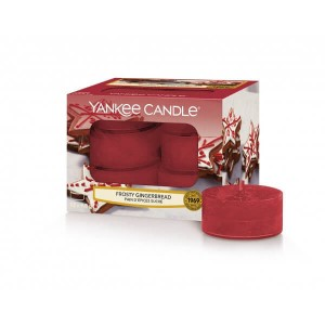 Tealight Yankee Candle Frosty Gingerbread