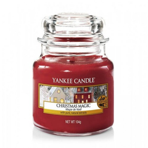 Świeca Yankee Candle Christmas Magic mały słoik (104g)